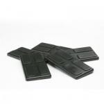 Spielsteine - rechteckig - schwarz