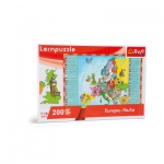 Lernpuzzle - Europakarte