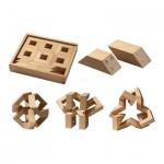 Math Maker - 30 magnetische Puzzleteile - Denkspiel - Knobelspiel - Geduldspiel
