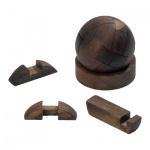 Kugel-Puzzle - 12 Puzzleteile - Denkspiel - Knobelspiel - Geduldspiel