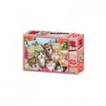 3D Puzzle Kids - 100 Teile - Cat Selfie - Katzen