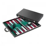 Backgammon - Koffer - Zisis - leatherette - Turnier