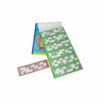 Bingo 1-90 - Ersatzblock - 1 Block mit 600 Blättern