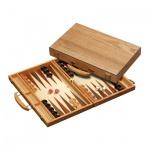 Backgammon - Koffer - Meneaos - Holz - standard
