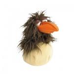 Rabenbaby im Ei - umstülpbar - 48 cm