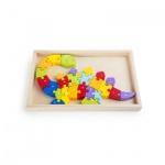ABC-Puzzle Dinosaurier