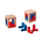 4 Caged Puzzle - Level 4 - 4 Puzzleteile