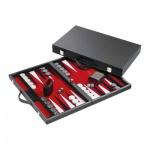 Backgammon - Koffer - Enias - Kunstleder - standard