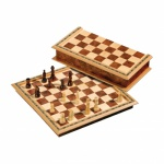 Schachspiel - Schachkassette - standard - Breite ca. 33 cm