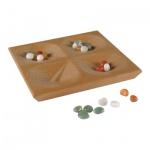 Due conGa - Ein kniffliges Spielchen mit Edelsteinen und vier Mulden