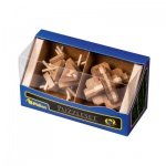 Puzzleset IV - Bambus - Level 2 - 5 Stück Knobelspiele