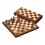 Schachspiel - Schachkassette - groß - Breite 40 cm - magnetisch