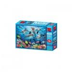 3D Puzzle Kids - 63 Teile - Dolphin Delight