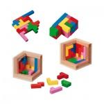 Pentominos Puzzle - Level 4 - 12 unterschiedliche Puzzleteile