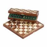Schachspiel - Reiseschach - Deluxe - klein - Breite ca. 27 cm