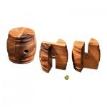 Twist Barrel - Level 1 - 2 Puzzleteile