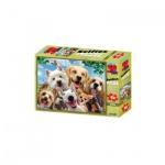 3D Puzzle Kids - 48 Teile - Dog Selfie - Hunde