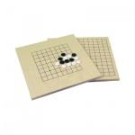 Go-Set klein - 9x9 und 13x13 Linien - 80 Glas-Steine
