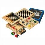 Spielesammlung - Holz - Reise-Edition