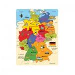 Puzzle Deutschland-Karte