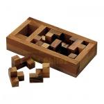 Das Grab der Pentacuben - 17 Puzzleteile - Denkspiel - Knobelspiel - Geduldspiel