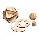 Venus-Puzzle - 10 Puzzleteile - Denkspiel - Knobelspiel - Geduldspiel