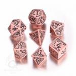 Call of Cthulhu Würfel - Limited Edition- 7 Stück - pink und schwarz