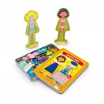Magnetspiel Anziehpuppen Mädchen