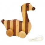 Streifentier - Holzfigur - Ganz - 20 cm