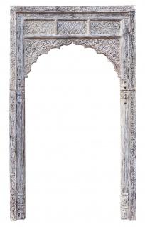 Indien hoher Rahmen für Tor Tür Bogen für Einbau Dekor fein geschnitzt von Luxury-Park