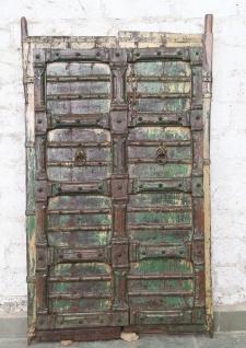 Indien massive Tür antik Teak VI-ED-019