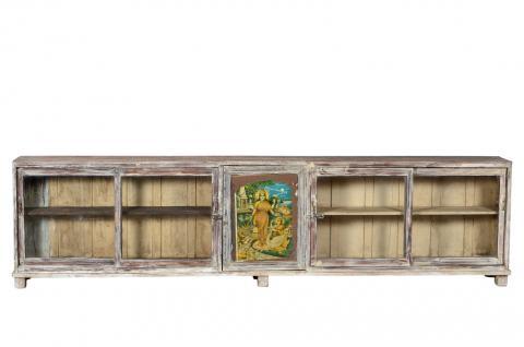 Ladentheke Glasvitrine Kredenz 3m lang - Vorschau