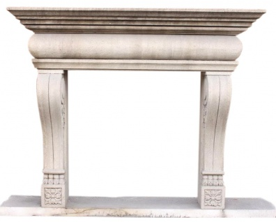 "Kamin Marmor "" nach Maß"" Modell Turin-14 antik finish"