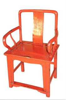 China Stuhl rot antik ca. 100 Jahre