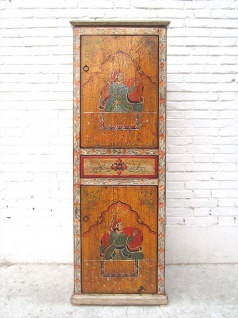 Tibet Hochschrank Highboard antik Jahre Geschenk