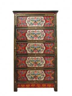 Schubladen Kommode Tibet 120 Jahre