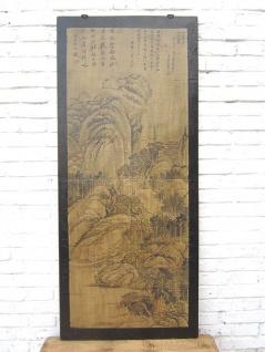 China Wandbild rotbrauner Rahmen Beijing 75 Jahre Pinie