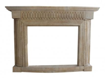 Marmorkamin Kamine Stil Klassizismus Umrandung Kaminumrahmung Kaminfassade K082