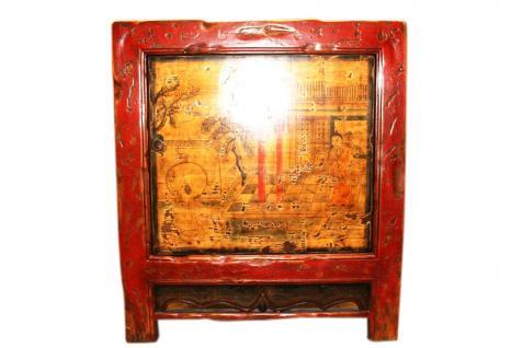 China Mongolei 1890 antiker Küchenschrank lackiertes Holz - Vorschau