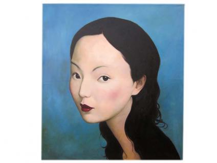 China Frauen Porträt Größe wie Original Öl auf Leinwand nach bekanntem Meister - Vorschau