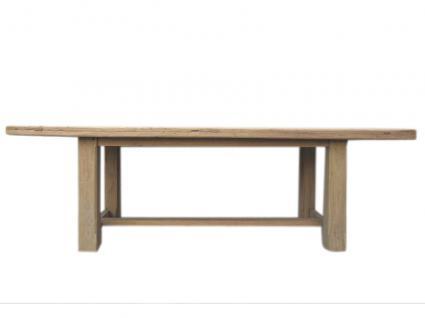 China Shanxi 1860 großer hoher Tisch Esstisch helles Ulmenholz Spitzenantiquität - Vorschau