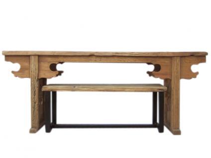 China Shanxi 1710 uralt Tisch Anrichte Beistelltisch helle Ulme Landhausstil - Vorschau