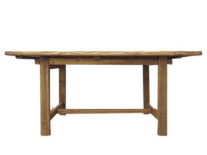 China Shanxi 1860 Esstisch Tisch helle Ulme Natur Landhausstil - Vorschau