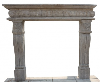 Kamin Versailles Renaissance Stil Marmor Antik-Finish