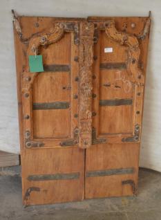 Antikes Holzfenster original aus Rajasthan, Indien - Vorschau