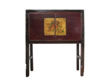 Kommode Mongolei antik 110 - 130 Jahre alt. 001