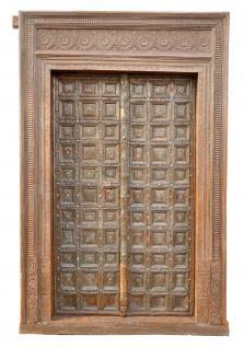 Indien 1900 Kassetten Doppel Tür Tor breiter Rahmen Gujarat von Luxury Park - Vorschau