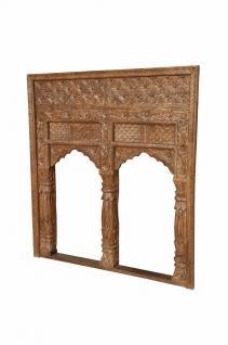 INDIA Mughal Fensterrahmen geschnitztes Holz - Vorschau