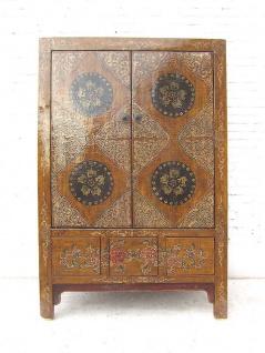 Tibet halbhoher Schrank Antiquität Ulmenholz Luxurypark