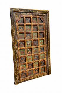 Fein gearbeitete Tür mit Rahmen aus Tibet - Vorschau
